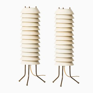 Maya the Bee Table Lamps by Ilmari Tapiovaara, Set of 2