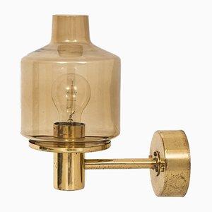 V-212 Brass Wall Lamp by Hans-Agne Jakobsson
