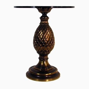 Table d'Appoint Cone Mid-Century en Pin, Italie