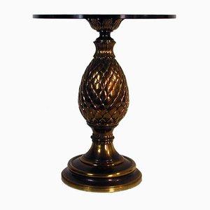 Tavolino Mid-Century con base a forma di pigna, Italia