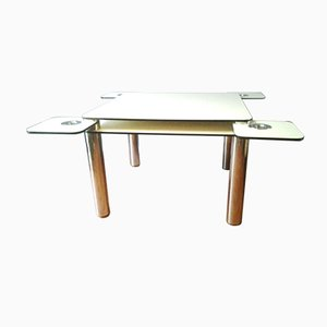 Poker Table by Joe Colombo for Zanotta, 1960s