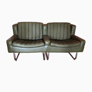 Vintage Cantilevered Chairs & Sofa Set from Asko