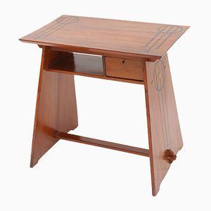 Italian Modernist Walnut Desk