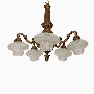 Lámpara de araña estilo modernista, años 30