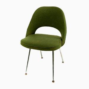 Sedia esecutiva Mid Century verde di Eero Saarinen per Knoll & Wohnbedarf, 1968