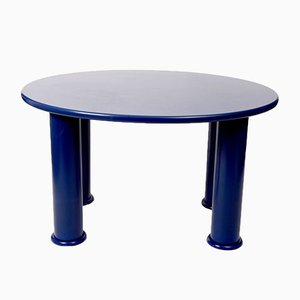 Vintage Blue Table by Ettore Sottsass for Esprit