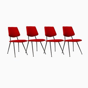 Chaises par Gastone Rinaldi, 1956, Set de 4