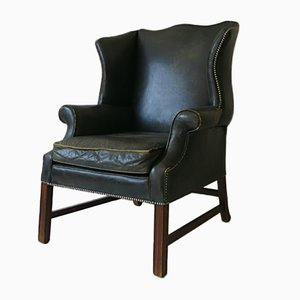 Englischer Art Deco Chesterfield Sessel