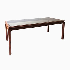 Long Danish Rosewood Coffee Table