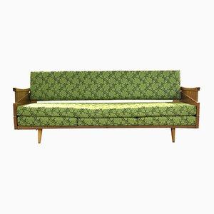 Sofá cama checo vintage, años 60