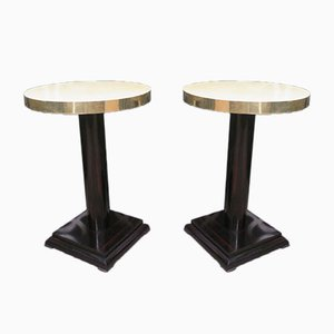 Art Deco Side Tables, 1930, Set of 2
