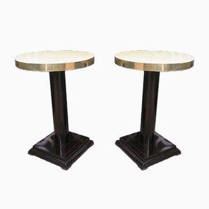 Art Deco Side Tables, 1930, Set of 2