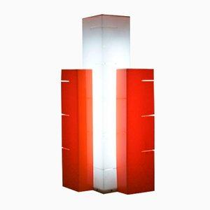 Skyscrapers Plexiglass Lamp, 1960s