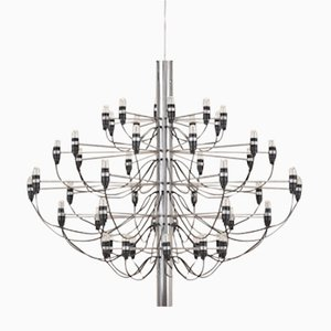 Vintage Model 2097 Chandelier by Gino Sarfatti for Flos