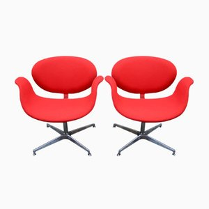 Little Tulip Chairs by Pierre Paulin for Artifort, 1960s, Set of 2