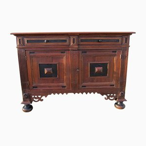 Antique Dutch Oak Commode