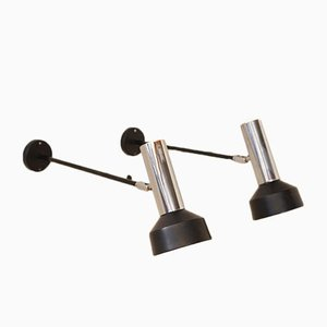 Vintage Wall Arm Lamps from Raak, Set of 2