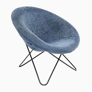 Hairpin Side Chair by Jean Royere, 1950s