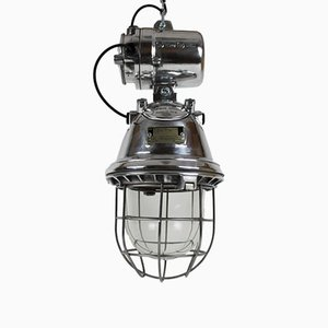 Suspension Vintage Industrielle Noire de EOW