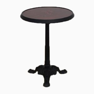 Vintage Bistro Table by Charlionais Panassier Lyon