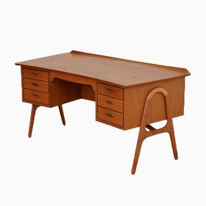 Table Mid-Century Boomerang par Svend Aage Madsen pour Sigurd Hansen