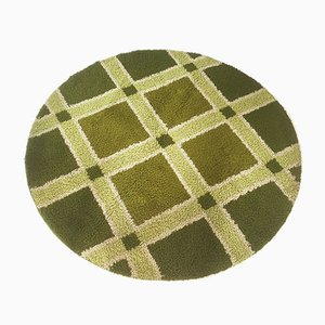 Green Rya High-Pile Rug by Desso, 1970s
