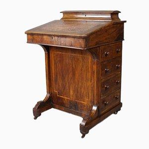 Antiker Viktorianischer Nussholz Rednerpult