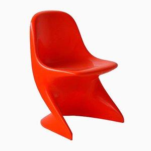 Roter Casalino 0 Stuhl von Alexander Begge für Casala, 1972