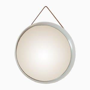 Espejo sueco de roble macizo de Uno & Östen Kristiansson para Luxus, 1967