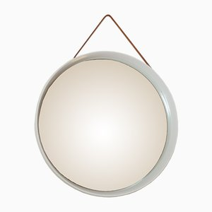 Specchio in solida quercia di Uno e Osten Kristiansson per Luxus, Svezia, 1967