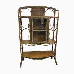 Wicker Cabinet, 1950s