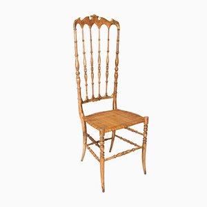 Chiavari Chair mit hoher Rückenlehne, 1940er