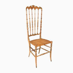 High Back Chiavari Chair, 1950s