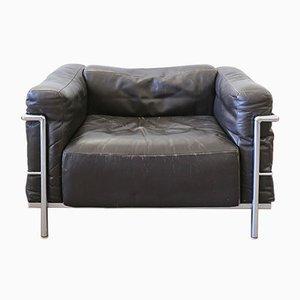 Fauteuil Lounge Vintage LC3 Grand Confort par Le Corbusier pour Cassina