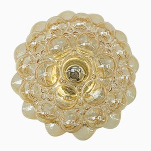 Large Bubble Glass Flush Mount by Helena Tynell for Limburg, 1960s