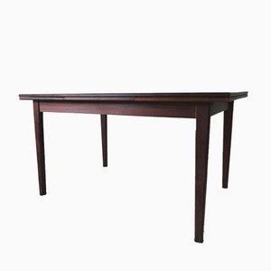 Mid-Century Modern Danish Extendable Palisander Dining Table