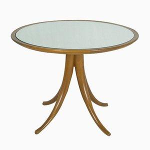 Tavolino da caffè a specchio di Pietro Chiesa per Fontana Arte, anni '40