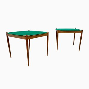 Tavolini da gioco di Gio Ponti per Fratelli Reguitti, Italia, 1958, set di 2