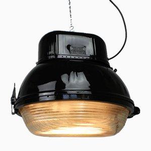 Lámpara de fábrica UORP-250 industrial de Predom-Mesko, años 70