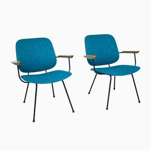 Vintage Easy Chairs from Kembo, 1950s, Set of 2