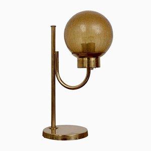 Lampada da tavolo modello B-090 in ottone di Bergboms, anni '60