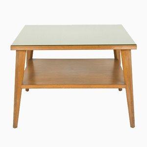 Mesa de centro italiana vintage de madera de teca, años 60