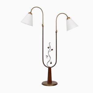 Stehlampe von Tor Wolfenstein für Ditzingers, 1940er