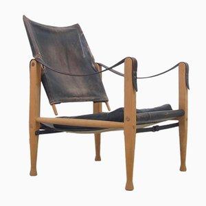 Chaise Vintage Safari par Kaare Klint pour Rud. Rasmussen