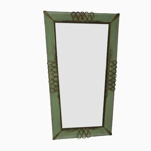 Vintage Italian Wall Mirror, 1940s