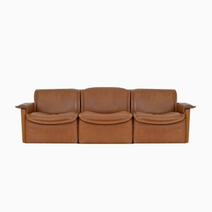 Vintage DS12 Sofa Set from de Sede, Set of 3