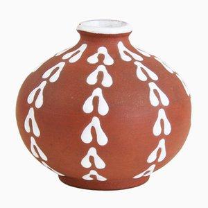 Jarrón Mid-Century de Edith Nielsen para Zeuthen Keramik
