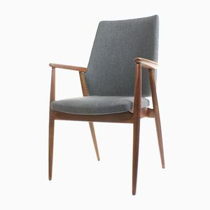 Vintage Armchair with Curved Back from Pastoe