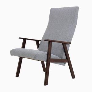 Chaise à Haut Dossier en Teck, Danemark,1960s