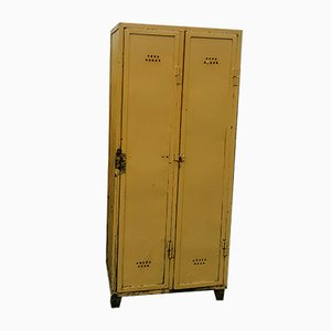 Vintage Industrial Metal Locker, 1930s